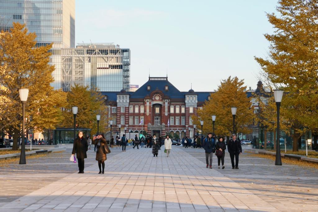 東京駅丸の内駅前広場がリニューアル