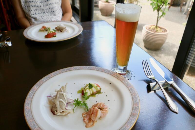 "[Fukuo] I have been Italian lunch while enjoying the local beer ""Tama no Hegumi"" in Fussa's beer hut [PR] # Tama's attractive dispatch project # Someday # tamahatsu # Fussa"