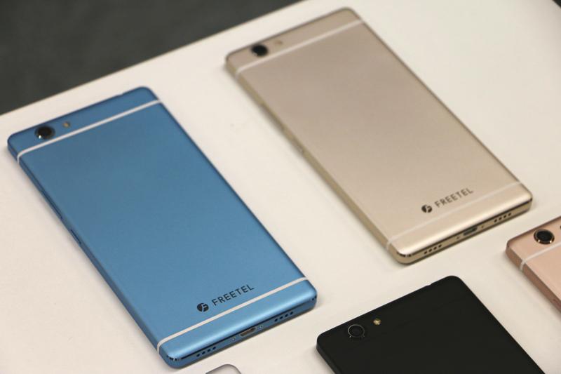 【フリーテルSAMURAI REI 麗】はFREETEL史上最も華麗なスマートフォン!