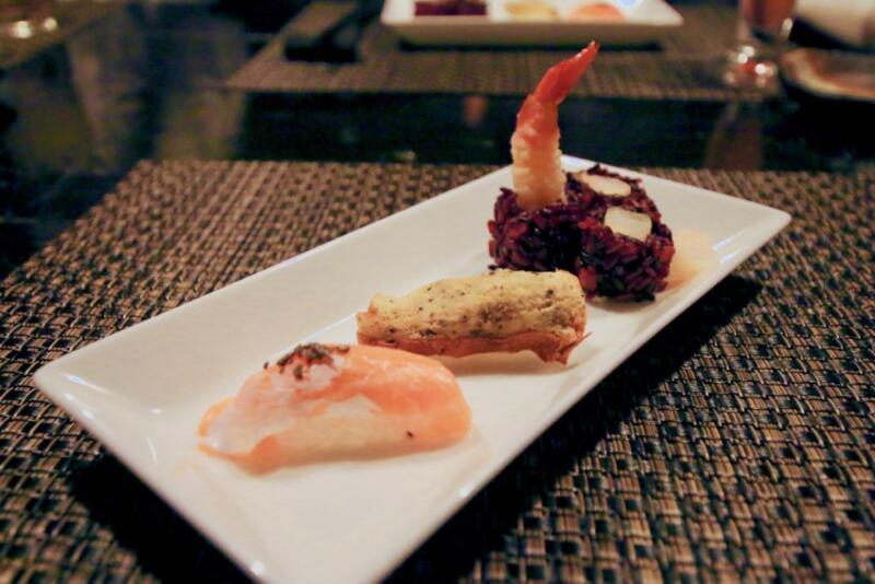 季節の握り寿司と本日の巻き寿司