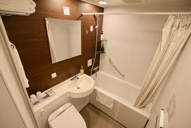 変なホテル東京西葛西のお風呂