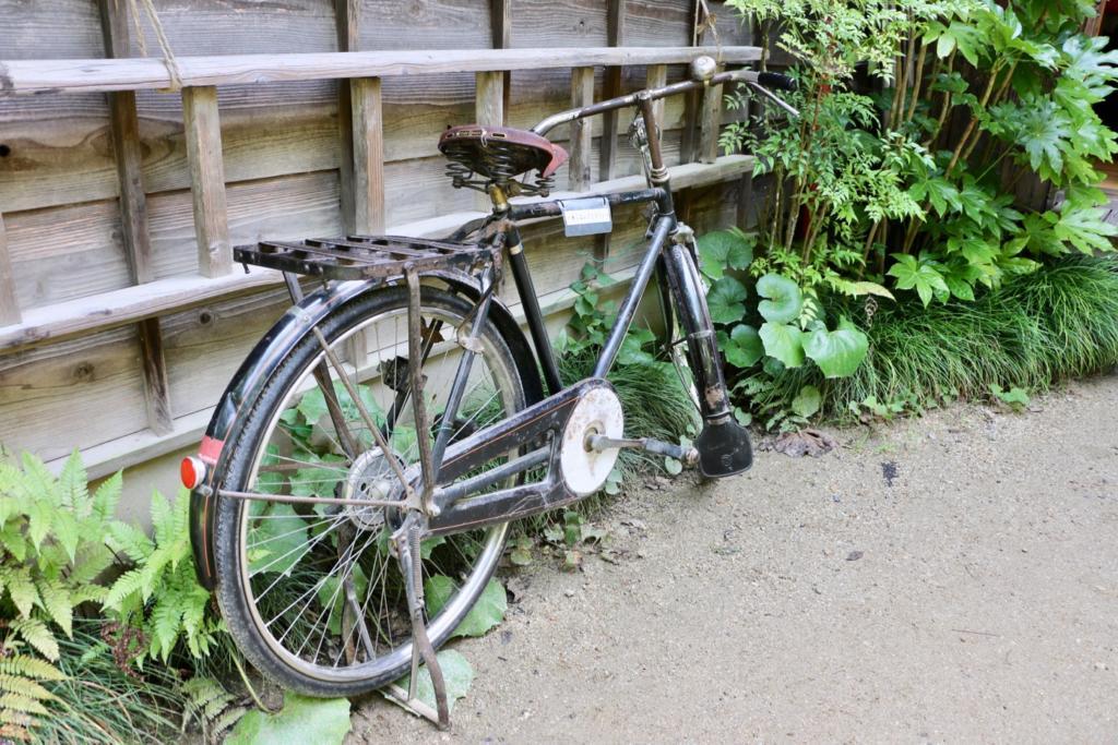 かんたくんが三角乗りしてた昔の自転車