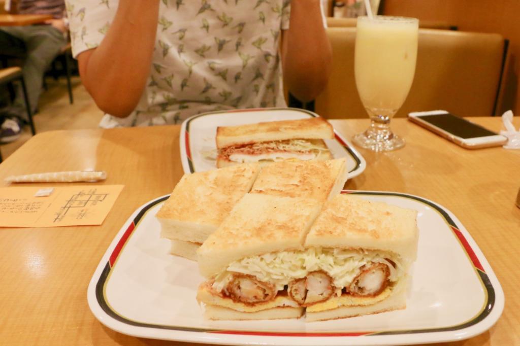 【コンパル栄東店】でエビフライサンドとモーニングセット!名古屋に来たら毎回食べたい朝食をレポ