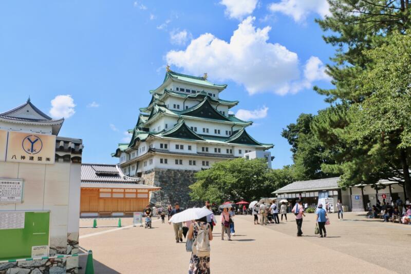 【名古屋城】「日本100名城に行こう」スタンプの設置場所