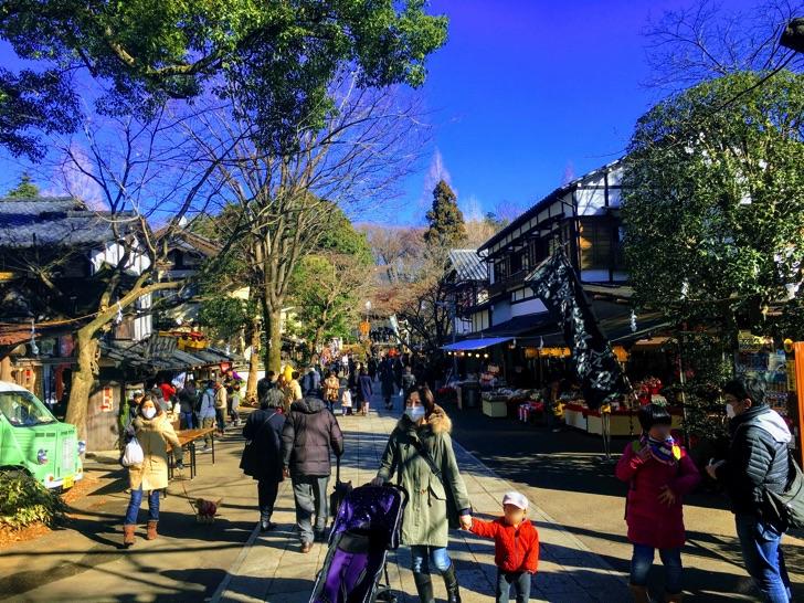 大晦日に深大寺で年越しそば〜吉祥寺ハーモニカ横丁を年越しフォトウォーク