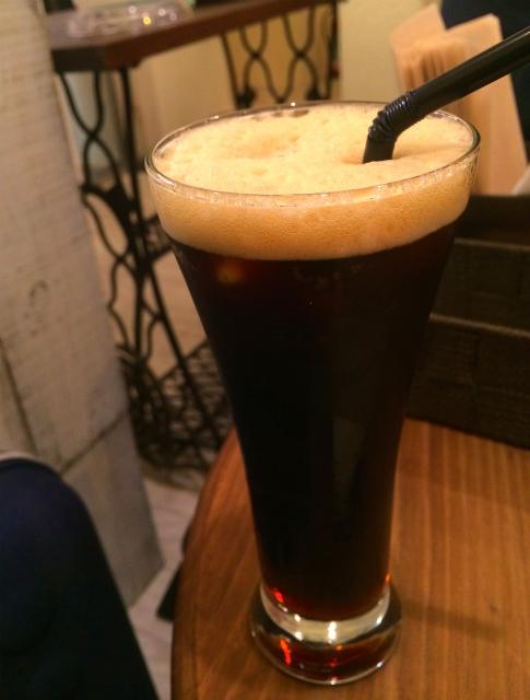 堀口珈琲のアイスコーヒー