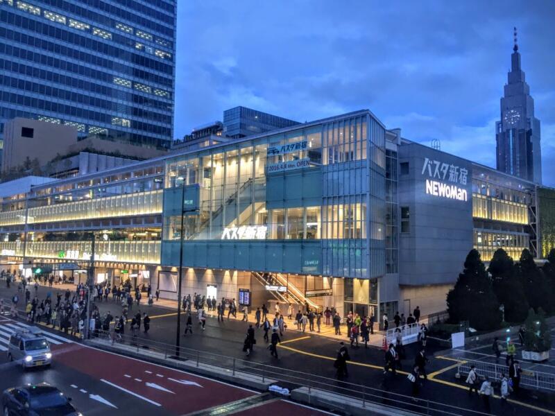 【バスタ新宿】新宿駅南口に高速バス乗り場が大集合!