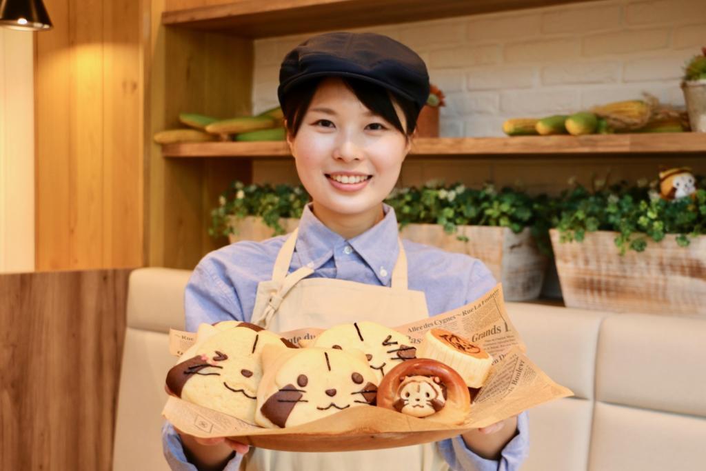 吉祥寺に「ラスカルベーカリー」がオープン!ラスカル全開のかわいすぎるパンがたくさん