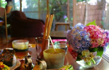 手ぬぐいカフェ一花屋