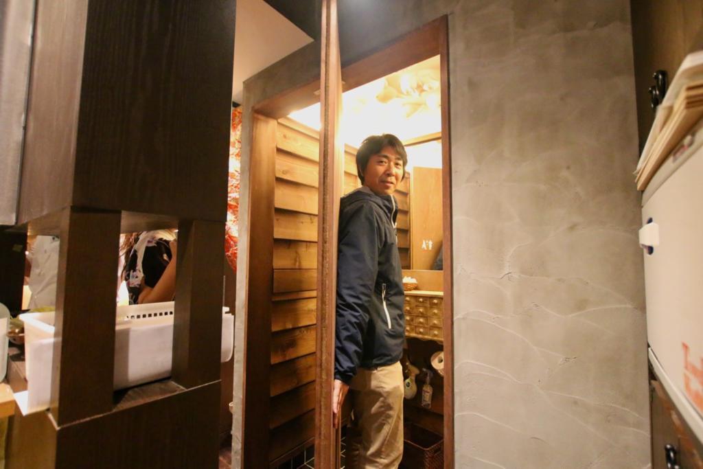 志田熟成鶏十八番のトイレ