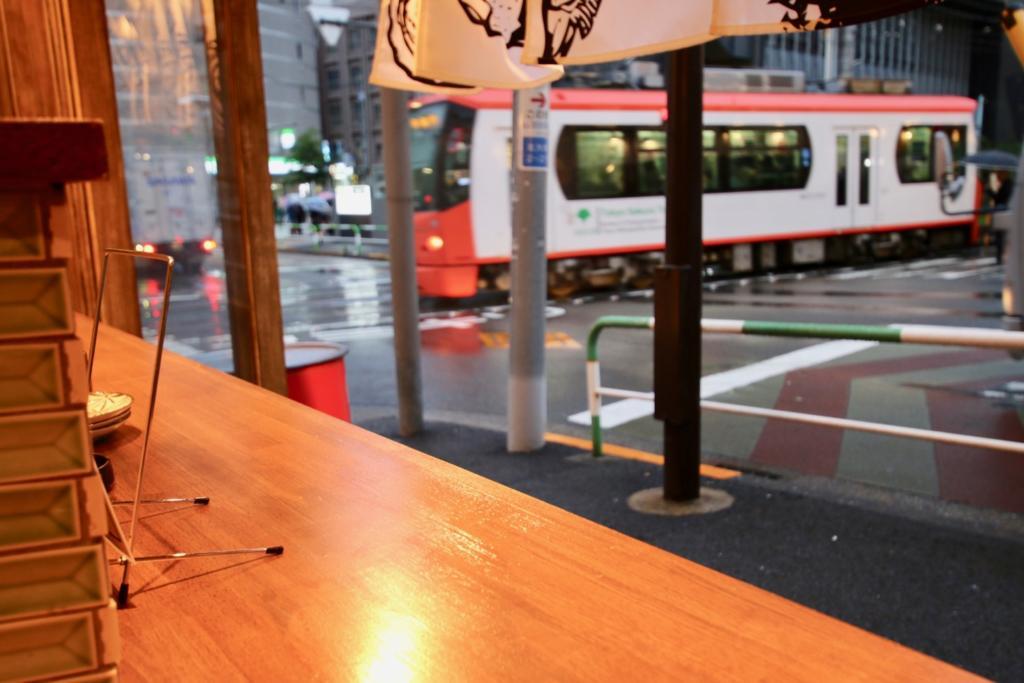 魚寿司から東京さくらトラム