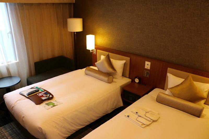 【ホテルユニゾ銀座七丁目】レディース専用フロアがある女性に優しいホテル
