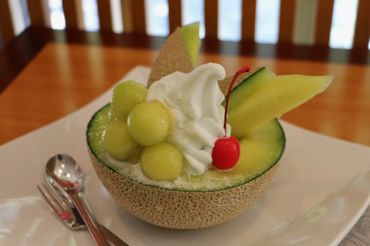 [During rare village cheering sale! 】 Eat the melon as it is at Ibaraki Marche!
