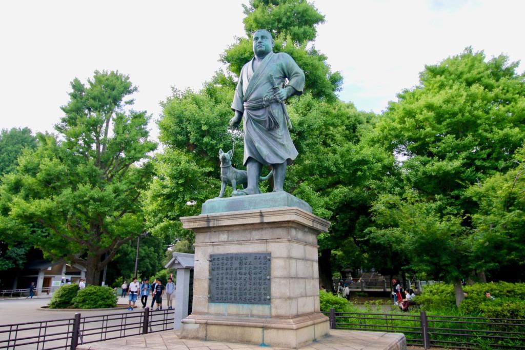 上野の西郷さん像