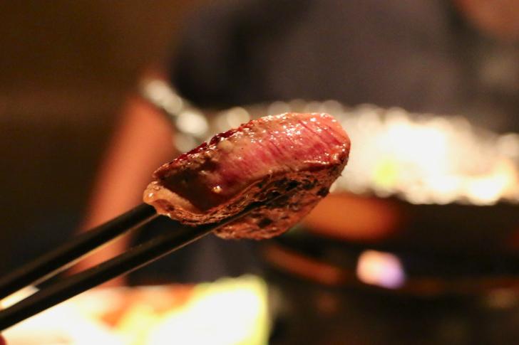 超絶ミディアムレアの特選ヒレ肉