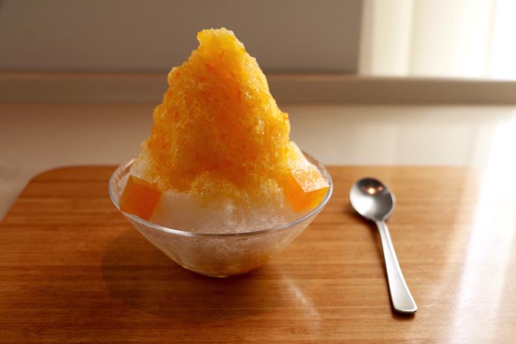 【東京ステーションホテル2F】TORAYA TOKYOで日向夏と温州みかんの氷を食す→白あんが決め手