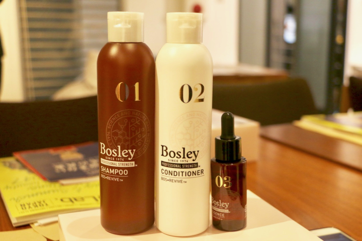 [Bosley (Bozure) Shampoo] I have heard the mechanism and hair growth conditions of hair