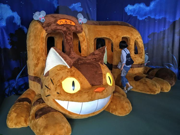 『ジブリの大博覧会』レビュー・ネコバスが乗り放題!ジブリ宣伝の歴史を顧みてきた