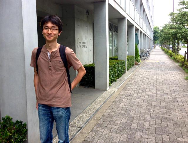 まちクエスト【実践編】開発者の石原淳也さんとインタビューさんぽ
