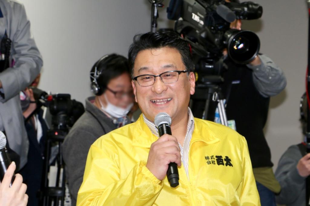 株式会社西太の岡本光男さん
