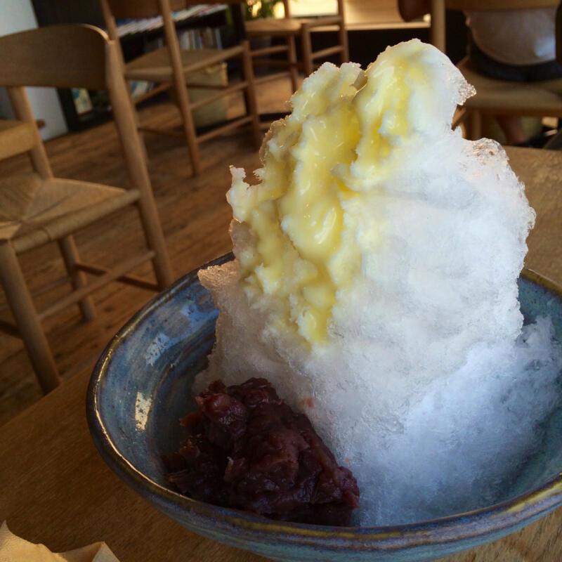 【宮城県松島海岸】濃厚練乳とたっぷり自家製あずき!松華堂菓子店で氷あずきを食す
