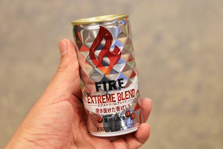 「香り」を極限まで引き出した『キリン ファイア』は寒い冬の朝に飲みたいエクストリームな缶コーヒー【PR】