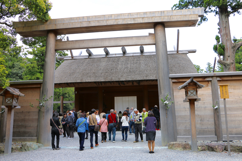 [Ise Jingu Outer Palace ~ Sengukan Sanpo] I have seen a new shrine that has been powered up in the Seibu