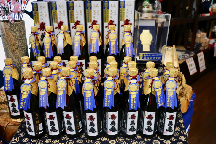亀田酒造寿萬亀