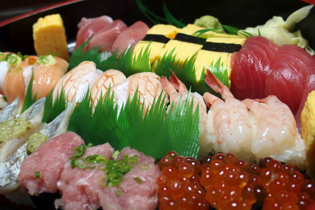 "【Reservations also the day before reservation】 Home delivery sushi ""Silver"" is a delicious sushi good Shari good news"