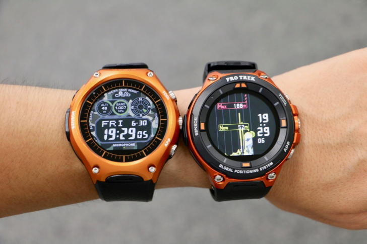 "Casio ""PRO TREK Smart WSD-F20"" is a tough MAX MAX outdoor outdoor watch equipped with GPS and offline map # Outdoor Ambassador # Protolek Smart"