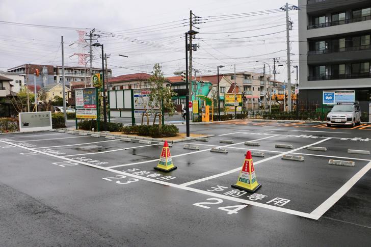 変なホテル舞浜東京ベイ駐車場