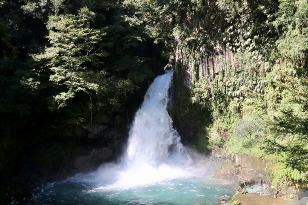 伊豆半島最大級の大滝