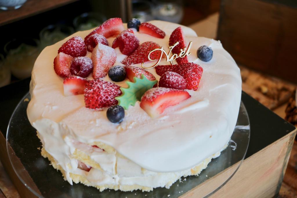 サンタの隠れ家 とろけるショートケーキ