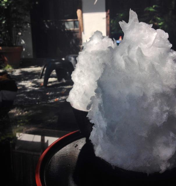 【埼玉県長瀞】フワフワ感がハンパない!「阿左美冷蔵 金崎本店」で天然氷のかき氷を食べてきた