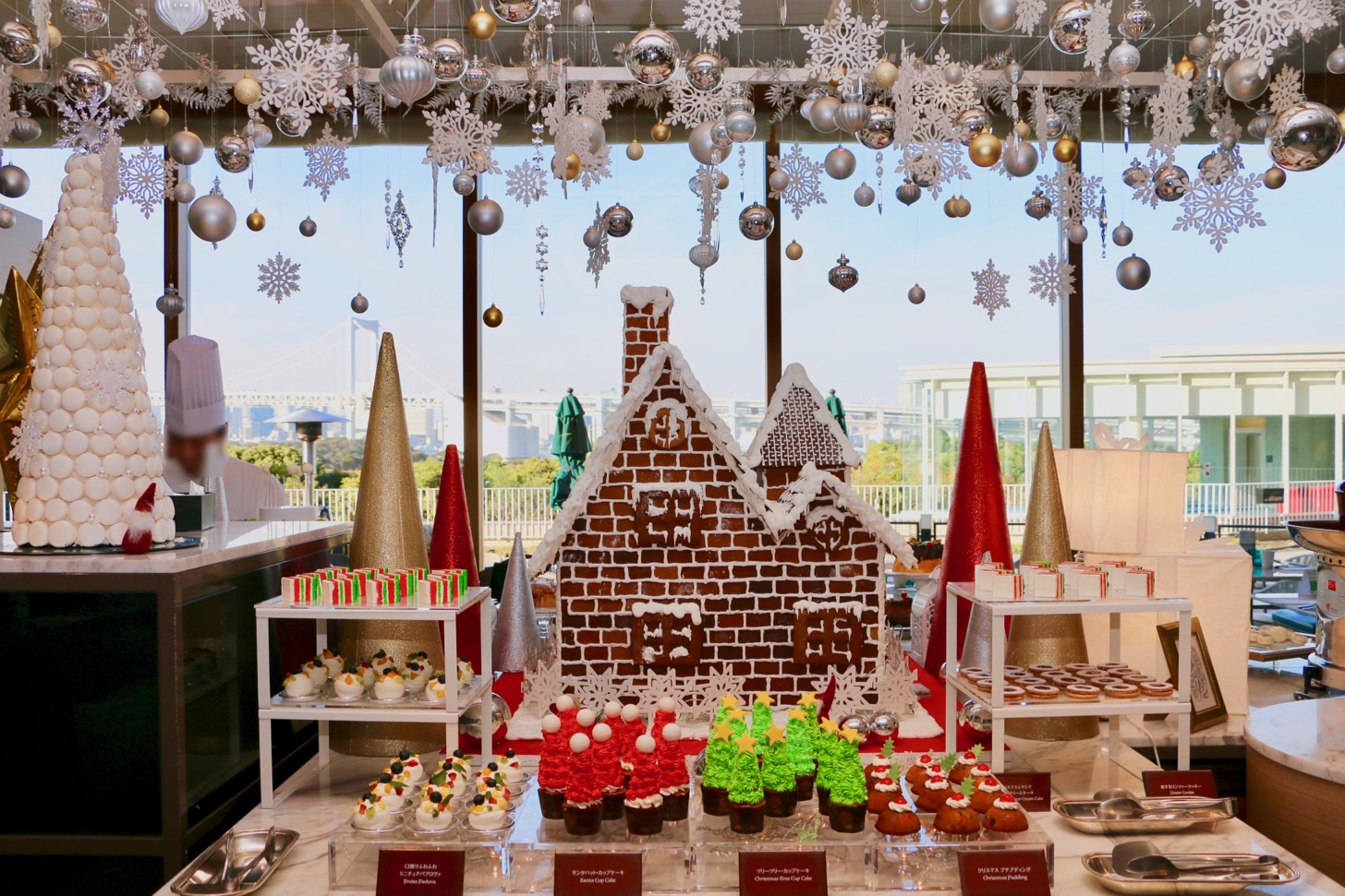 [Hilton Tokyo Odaiba] The world's sweets buffet for miniatures and Christmas markets! I came to feel a Christmas feeling a little earlier # Hilton Suites