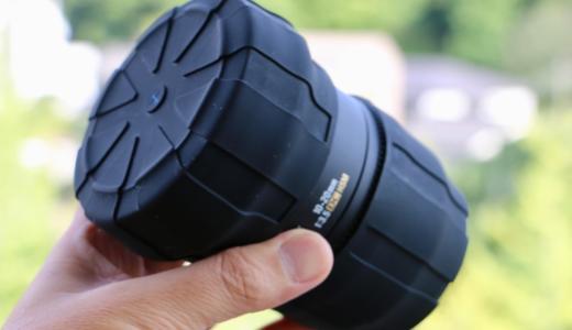 防塵・防水・耐衝撃のレンズキャップ「KUVRD」は旅行の省スペース化にも効果を発揮する