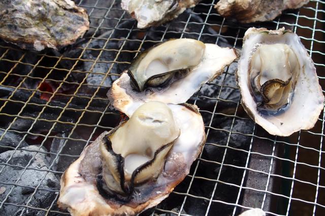 焼き牡蠣、蒸し牡蠣、チョコフォンデュ!お台場で真冬のBBQパーティ #cgskBBQ