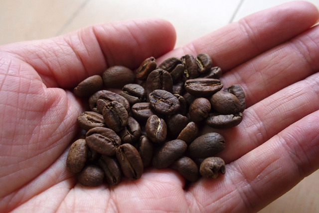 [Souvenir Sanpo] I tried to put in a morning coffee with beans bought with blue bottle coffee!