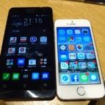Zenfone5とiPhone5s
