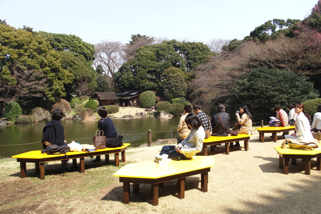 東京国立博物館の庭園