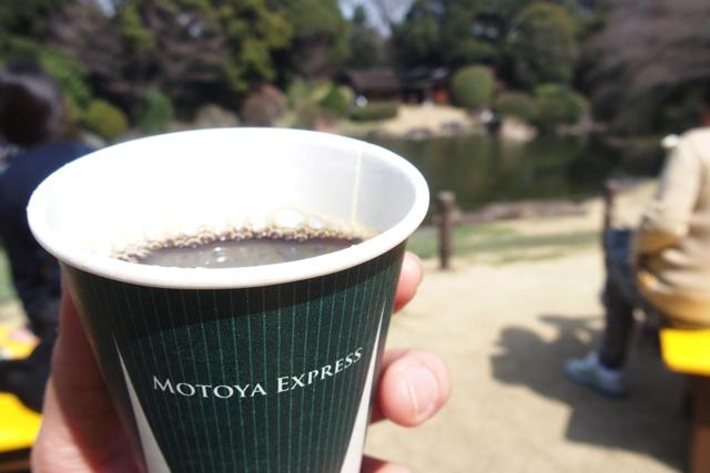 MOTOYA EXPRESSのコーヒー