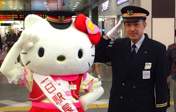 "[Hello Kitty is 1 daymaster] Deputy station name of ""Keio Tama Center Station"" is ""Sanrio Puroland Nearest Station"""