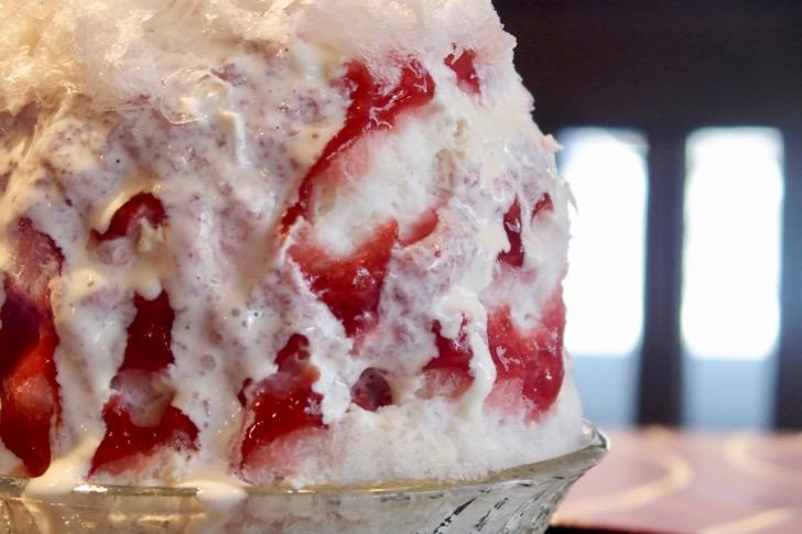 桜新町のかき氷店「雪うさぎ」で数量限定「苺のフロマージュ」がうまい!