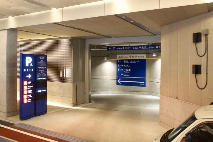 GINZA SIXの駐車場料金