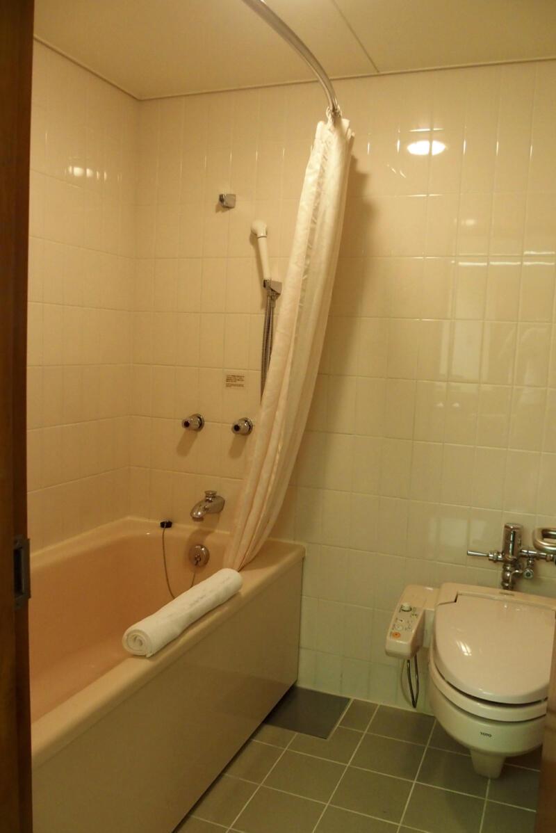 バスルームはユニットタイプ