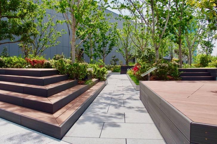 ギンザシックス屋上ガーデン