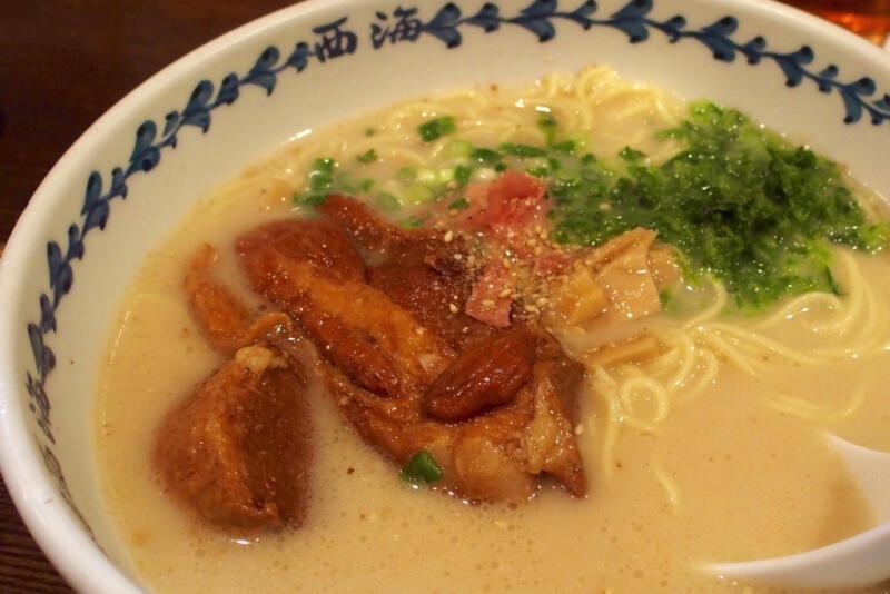 ラーメンショップ 西海 多摩センター店で軍艦島角煮らーめんを食す!アゴだし豚骨スープが美味しい!