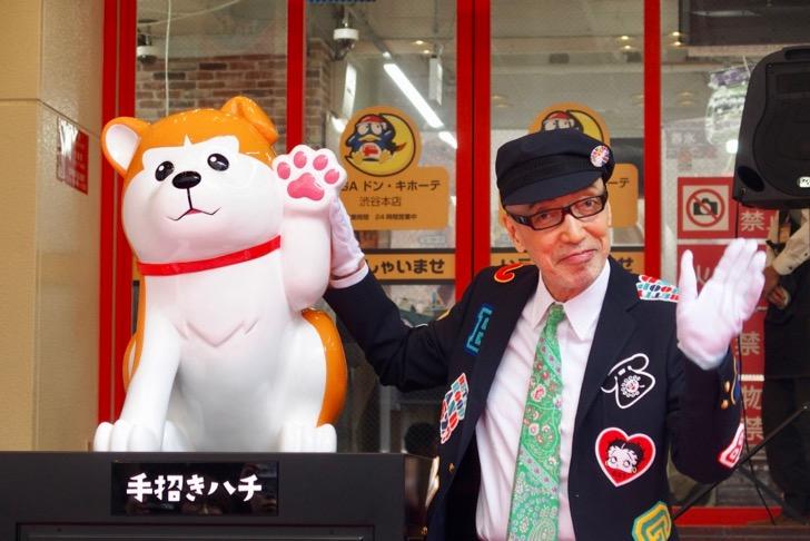 【渋谷の新名物「手招きハチ」が誕生】MEGAドン・キホーテ渋谷本店がオープン