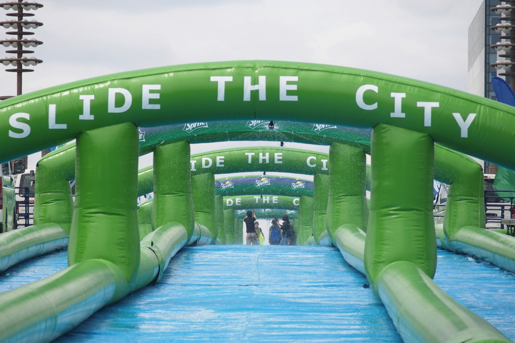 "[7 / 16 / 17] ""Slide the City"" will be held at Odaiba"