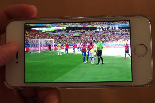 #全録DIGA ならスマホで見れる!「外からどこでもスマホで視聴」でワールドカップをリアルタイム視聴